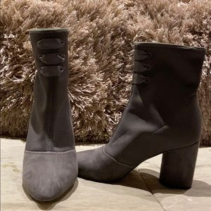 Nine West grey boots size 8